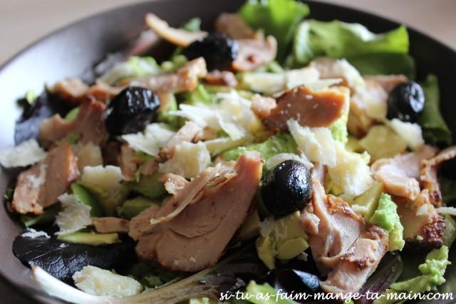 salade avocat poulet parmesan2