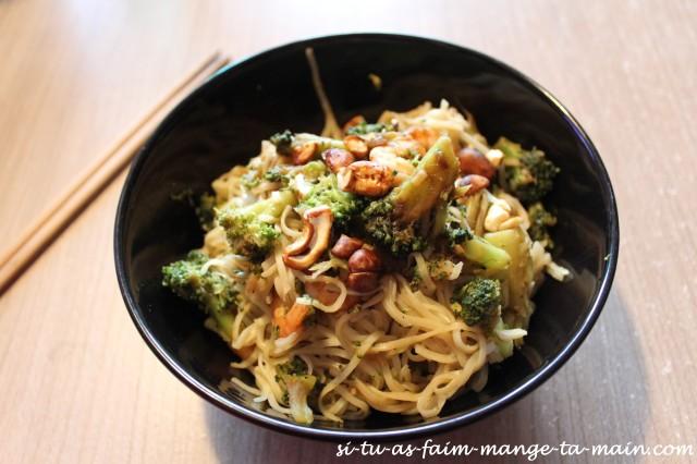 nouilles brocolis crevette1