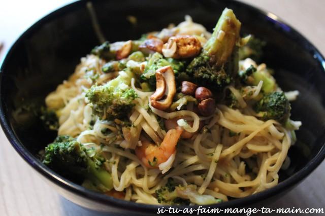 nouilles brocolis crevette2