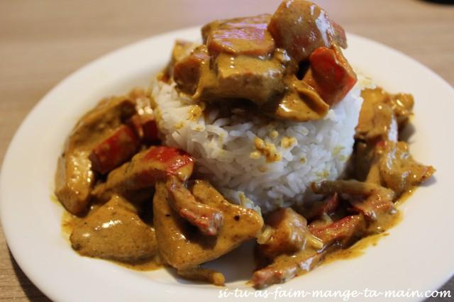 Poulet au curry1