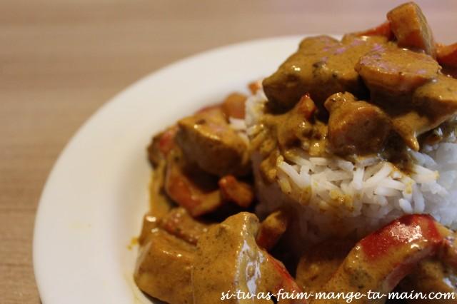 Poulet au curry2