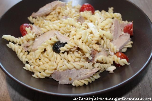 salade de pates poulet et féta2